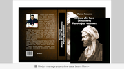 Книга Абуали ибн Сино Авицена Философия человека